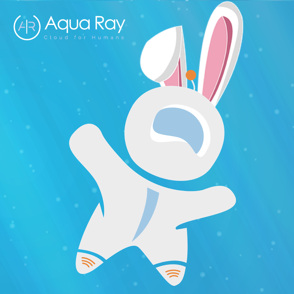 Hunt Easter eggs with Aqua Ray
